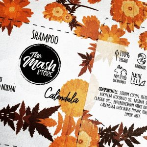 Shampoo sólido Caléndula - Cabello normal/mixto 110gr (The Mash Store)
