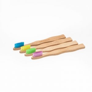 Meraki Cepillo de dientes Biodegradable de bambú MERAKIDS