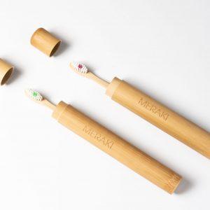 Meraki Estuche de Viaje para cepillo de dientes