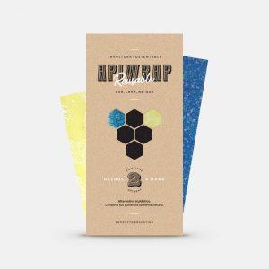 Envoltura sustentable ApiWrap x2 (20x20 y 30x30)