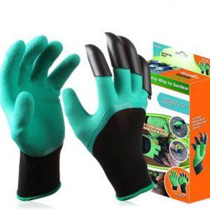 Guantes de jardinería con garras para trabajar la tierra (Garden Genie Gloves)