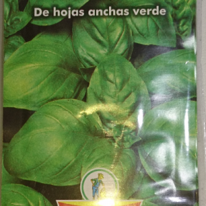 Semillas Albahaca / Lechuga / Cebollas de verdeo  Peso neto 1 gr (Gol-Pak)