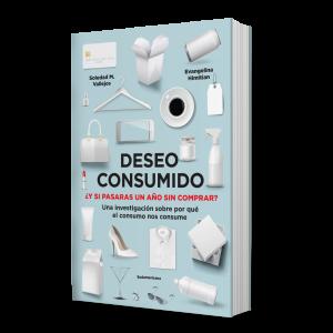 Libro Deseo consumido Evangelina Himitian, Soledad M. Vallejos Sudamericana
