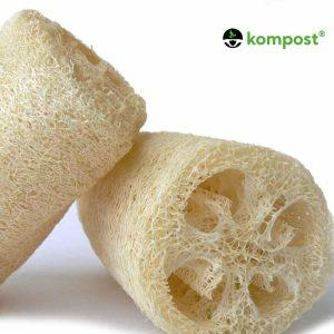 Esponja Vegetal Luffa Exfoliante Cocina Zero Waste Kompost®
