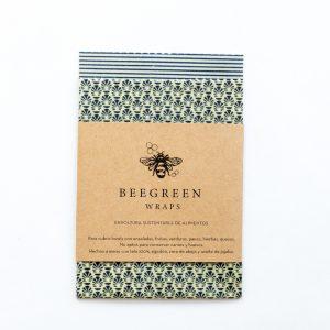 Envoltura sustentable de alimentos - Pack x 2 (Beegreen)