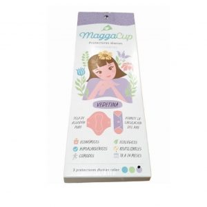 Protectores de tela de uso diario x 3 (MaggaCup)